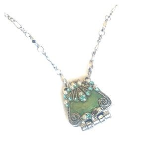 Jewelry - VCLM turquoise locket necklace